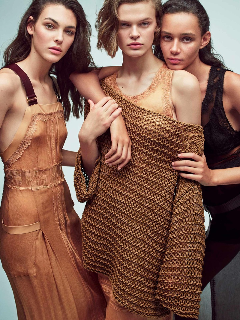 An image from Alberta Ferretti's spring 2018 advertising campaign