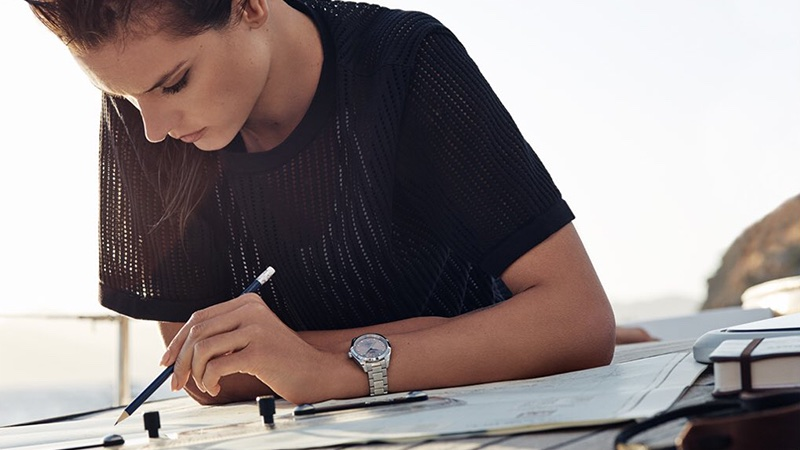OMEGA Watches taps Alessandra Ambrosio for new campaign