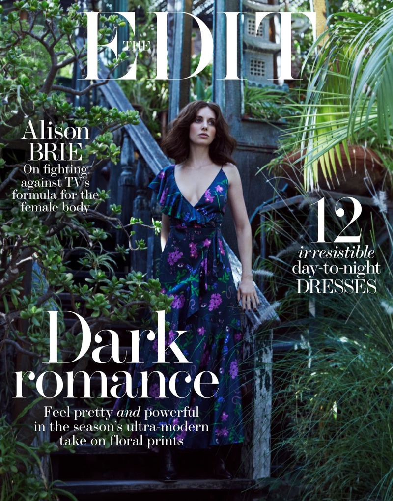 Alison Brie on The Edit December 14th, 2017 Cover