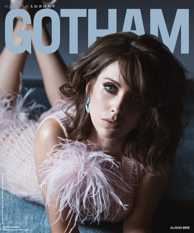 Alison Brie on Gotham Magazine January 2018 Cover