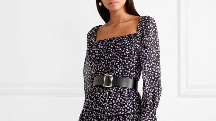 Altuzarra Lahiri Floral-Print Silk-Georgette Dress $998 (previously $2,495)