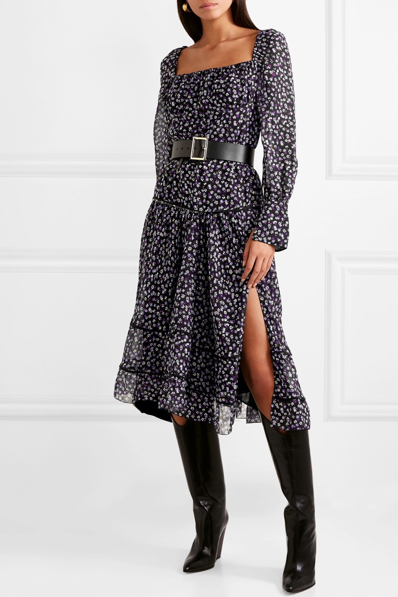 Altuzarra Lahiri Floral-Print Silk-Georgette Dress $998 (previously $2,495)