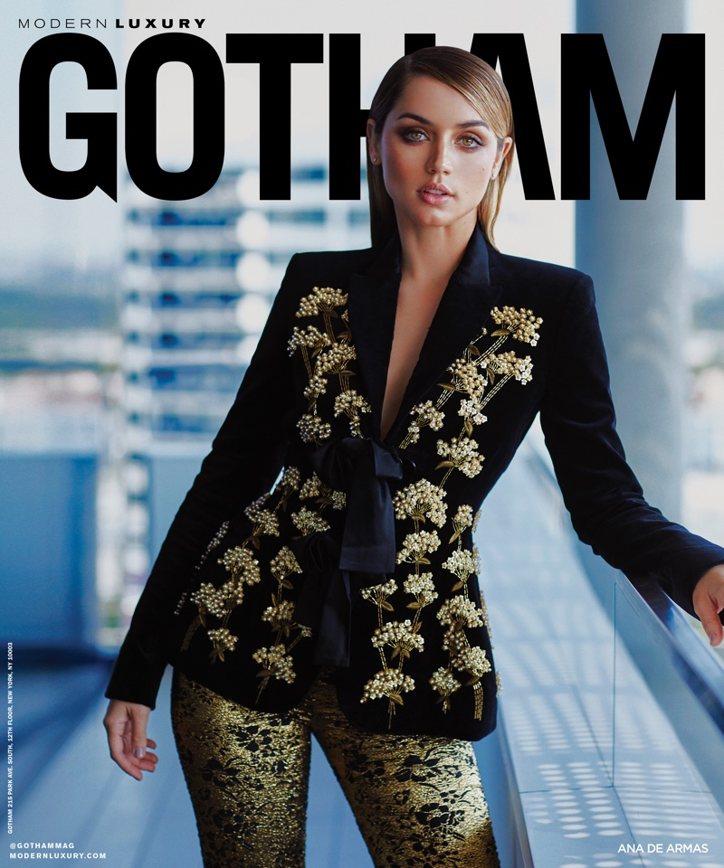 Ana de Armas on Gotham Magazine Winter 2017 Cover