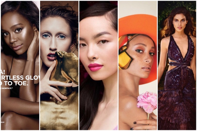 Discover the latest beauty campaigns from Estée Lauder, L'Oreal, Marc Jacobs + more
