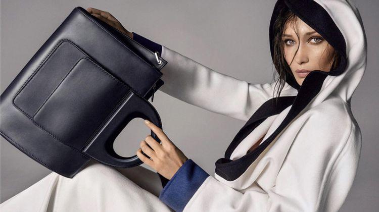Bella Hadid Returns for Max Mara's Spring 2018 Accessories Campaign