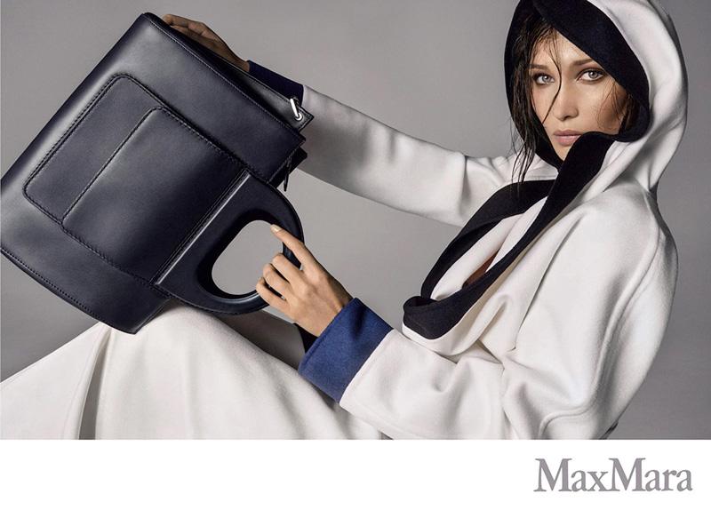 Bella Hadid stars in Max Mara's spring-summer 2018 campaign