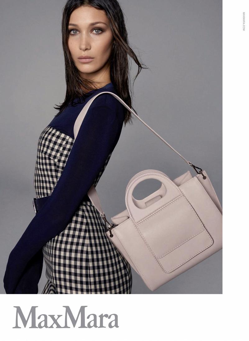 Max Mara taps Bella Hadid for spring-summer 2018 accessories campaign