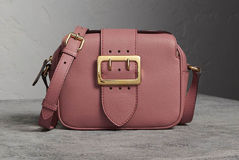 Burberry The Small Buckle Crossbody Bag in Dusty Pink  675 (previously  950) 17d81a25258d7