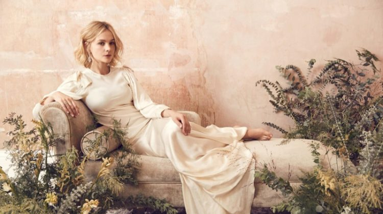 Carey Mulligan Poses in Ethereal Gowns for Harper's Bazaar UK