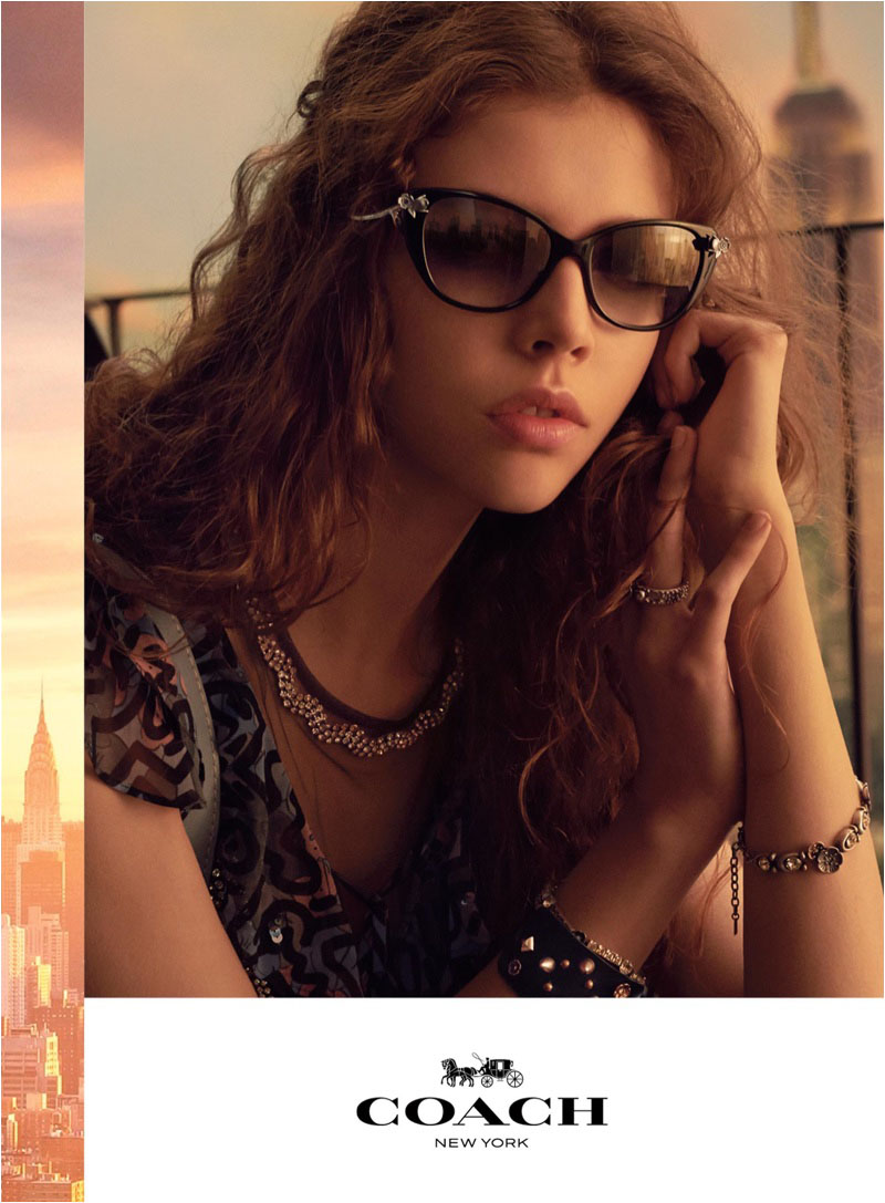 Léa Julian fronts Coach's spring-summer 2018 campaign