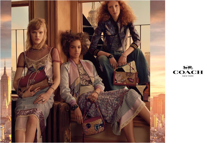 Coach unveils with spring-summer 2018 campaign