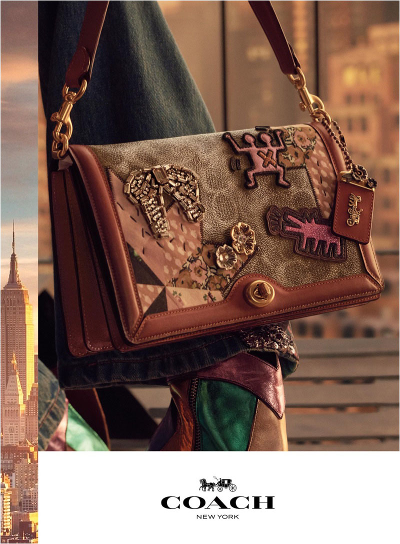 Coach focuses on accessories for spring-summer 2018 campaign