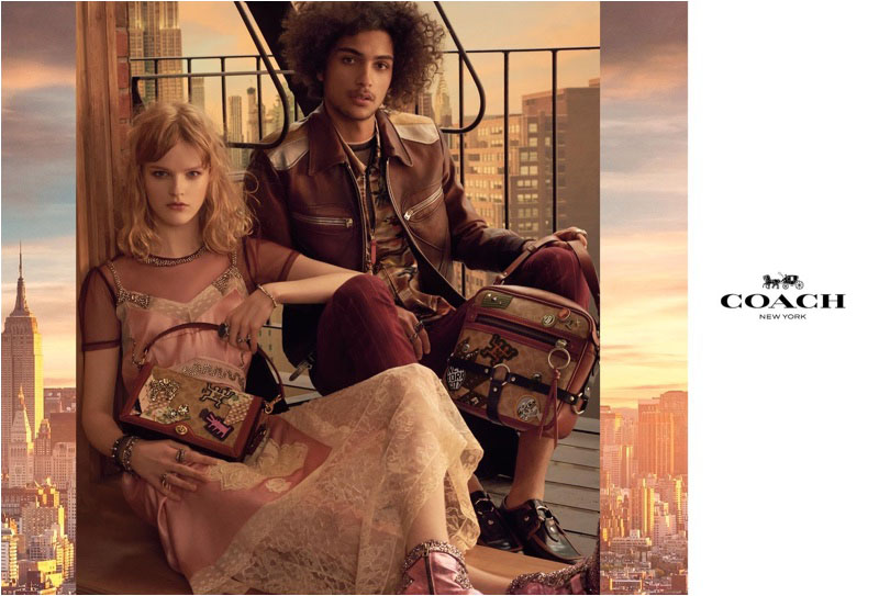 Coach sets spring-summer 2018 campaign against a New York City backdrop