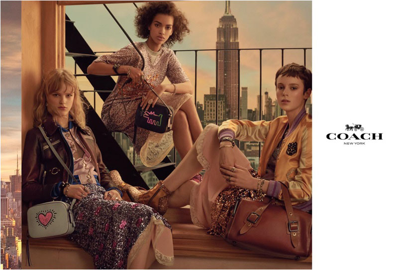 Steven Meisel photographs Coach's spring 2018 advertising campaign