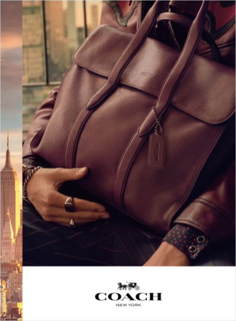 An image from Coach's spring 2018 advertising campaign