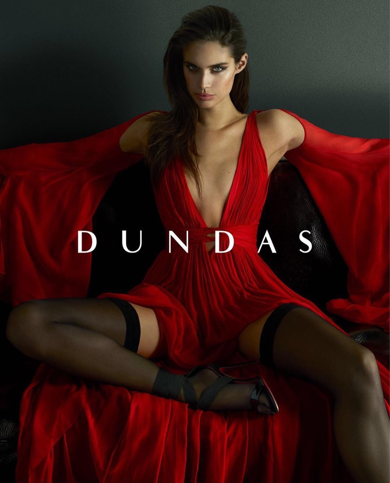 Sara Sampaio stars in Dundas' resort 2018 campaign