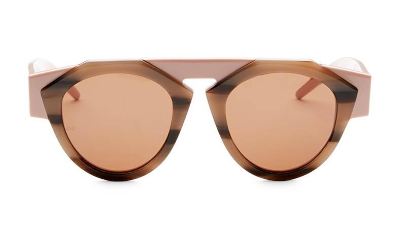 Fiorucci x Smoke x Mirrors Atomic3 Ilky Round Sunglasses $350