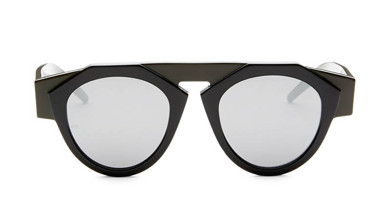 Fiorucci x Smoke x Mirrors Atomic3 Round Sunglasses $350