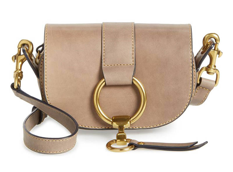 Frye Mini Ilana Harness Leather Saddle Bag $223.50 (previously $298)