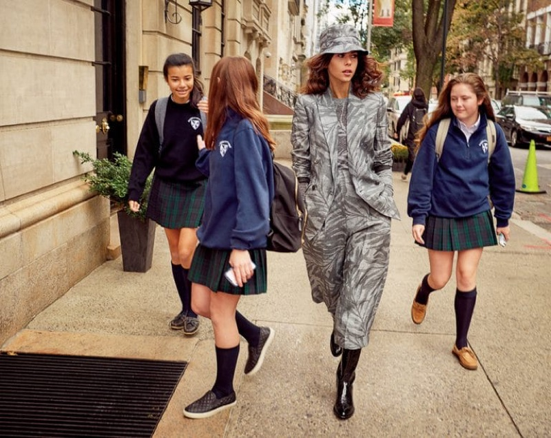 Georgia Fowler Takes On Chic City Style for ELLE