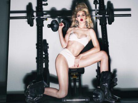Gigi Hadid, Paris Jackson Hit the Gym for CR Fashion Book Calendar