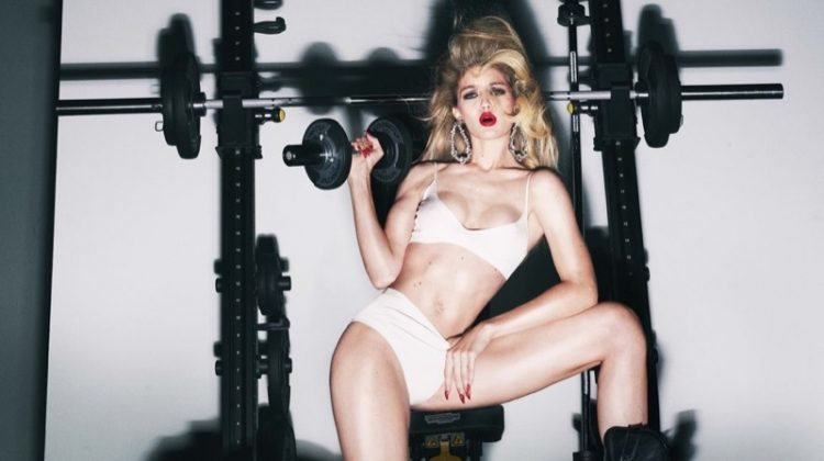 Gigi Hadid, Paris Jackson Hit the Gym for CR Fashion Book Calendar