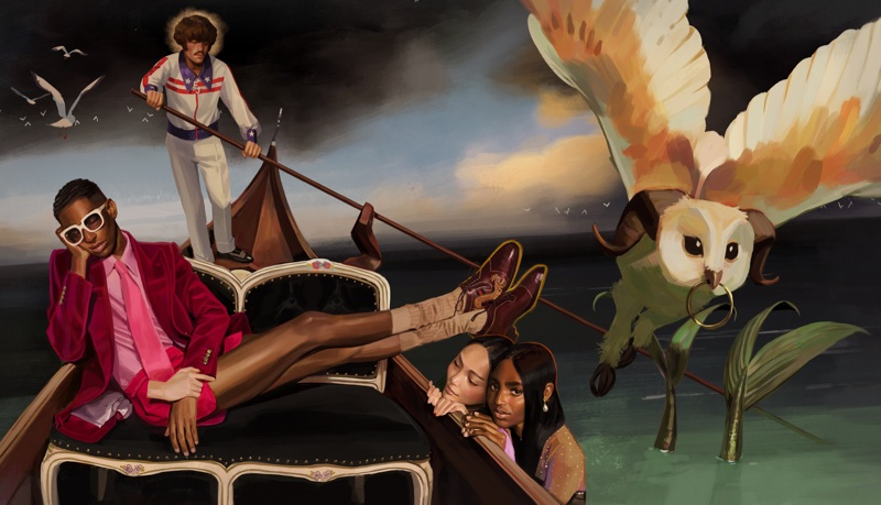 Gucci showcases Utopian Fantasy spring-summer 2018 campaign