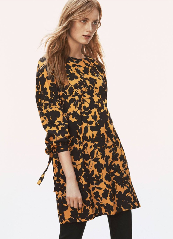 H&M Short Dress and Stovepipe Pants