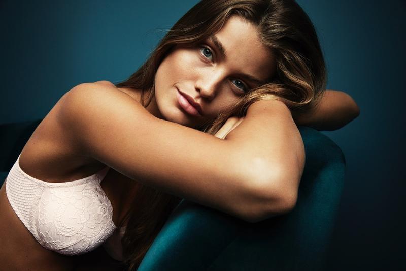 H&M Lace Balconette Bra