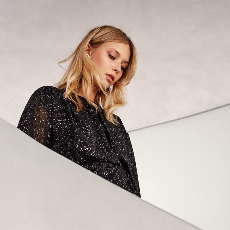H&M Draped Dress