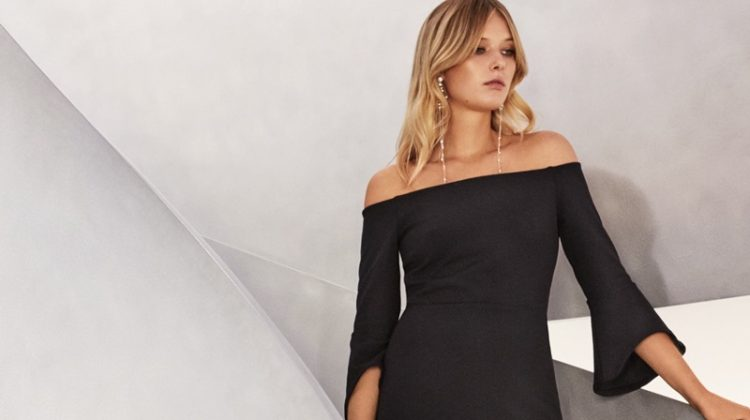 H&M Off-the-Shoulder Dress