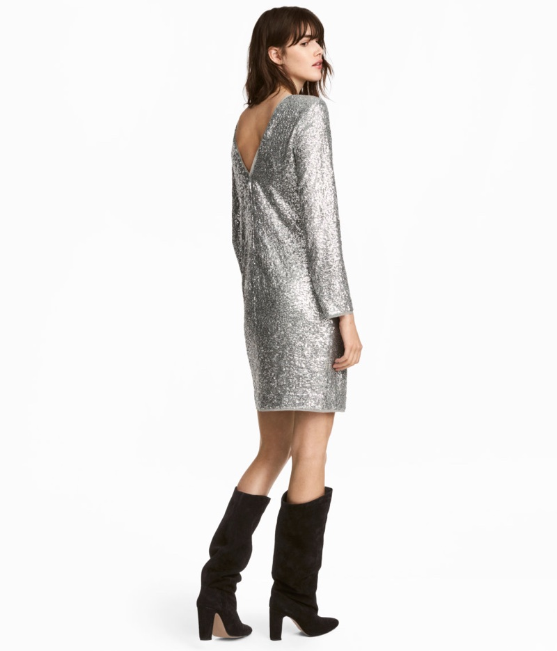 H&M Sequined Dress $129