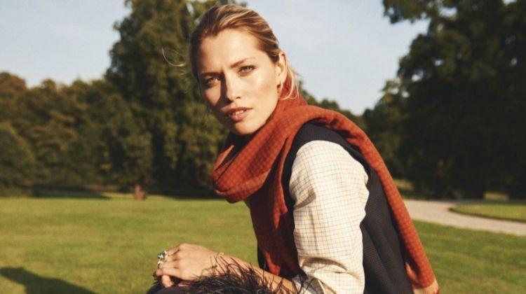 Hana Jirickova Layers Up in Country Styles for Eurowoman