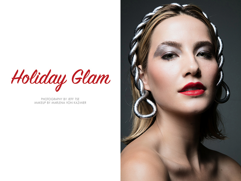 Holiday Glam photographed by Jeff Tse