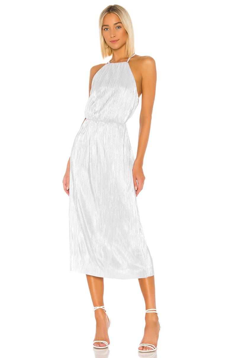 House of Harlow 1960 x REVOLVE Farrah Dress in Silver $198