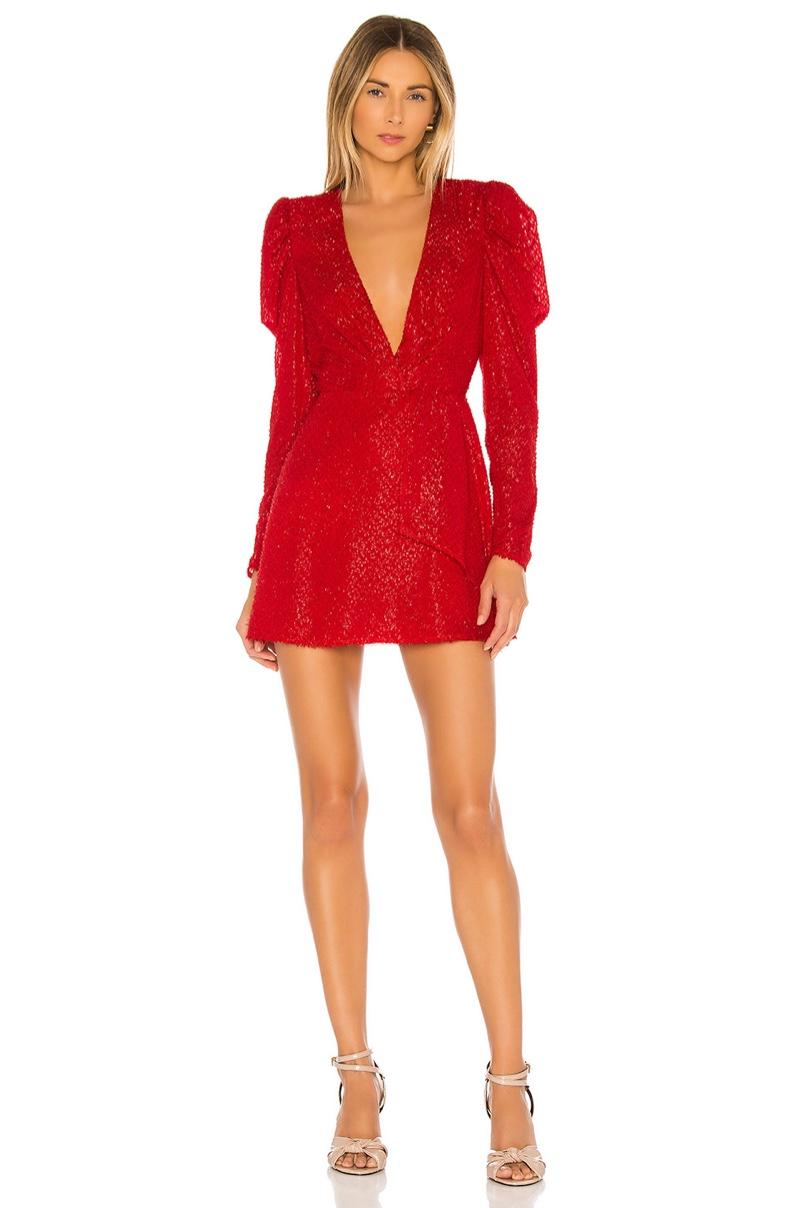 House of Harlow 1960 x REVOLVE Stefania Mini Dress $198