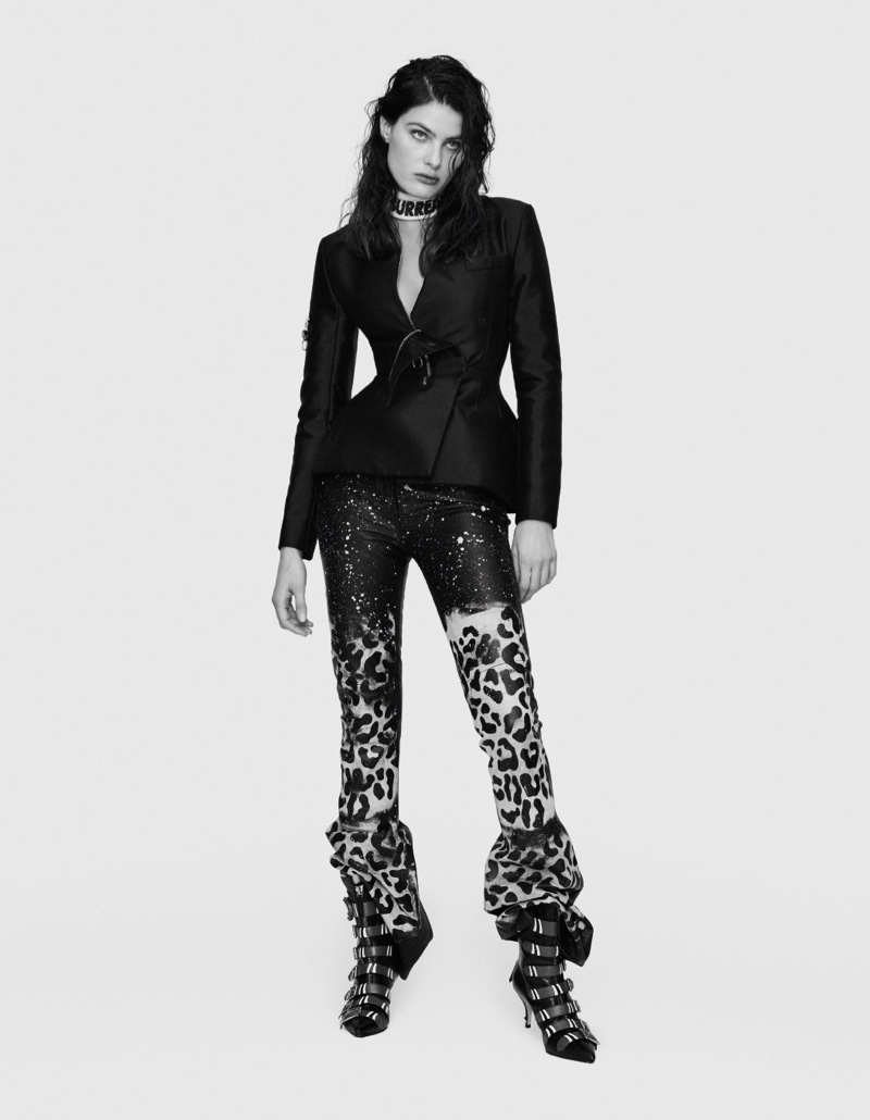 Isabeli Fontana Poses in Eclectic Styles for FFW Magazine