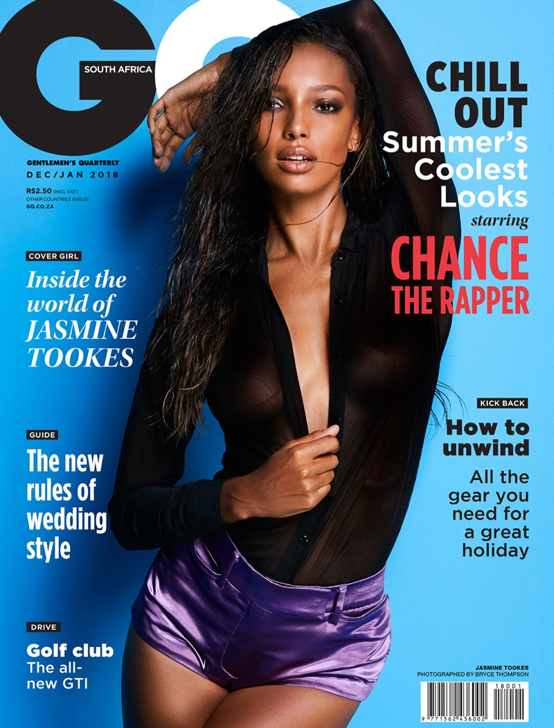 Jasmine Tookes Turns Up the Heat in Sexy GQ South Africa Photos