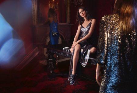 Kati Nescher Shines in Jimmy Choo's Cruise 2018 Campaign