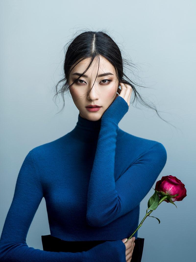 Model Ji Hye Park for Harper's Bazaar Vietnam November 2017. Photo: Jingna Zhang
