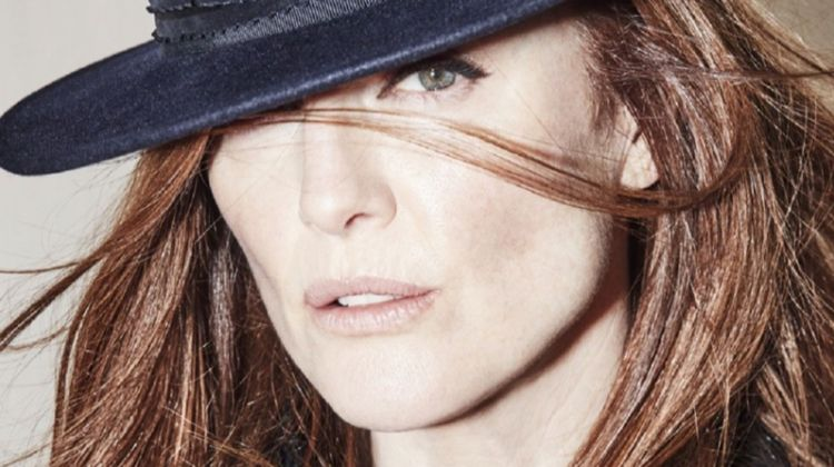 Julianne Moore Poses in Chanel Looks for Grazia France