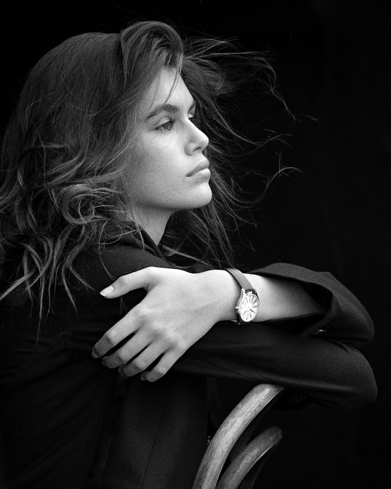 Behind the Scenes: Kaia Gerber for OMEGA watch campaign