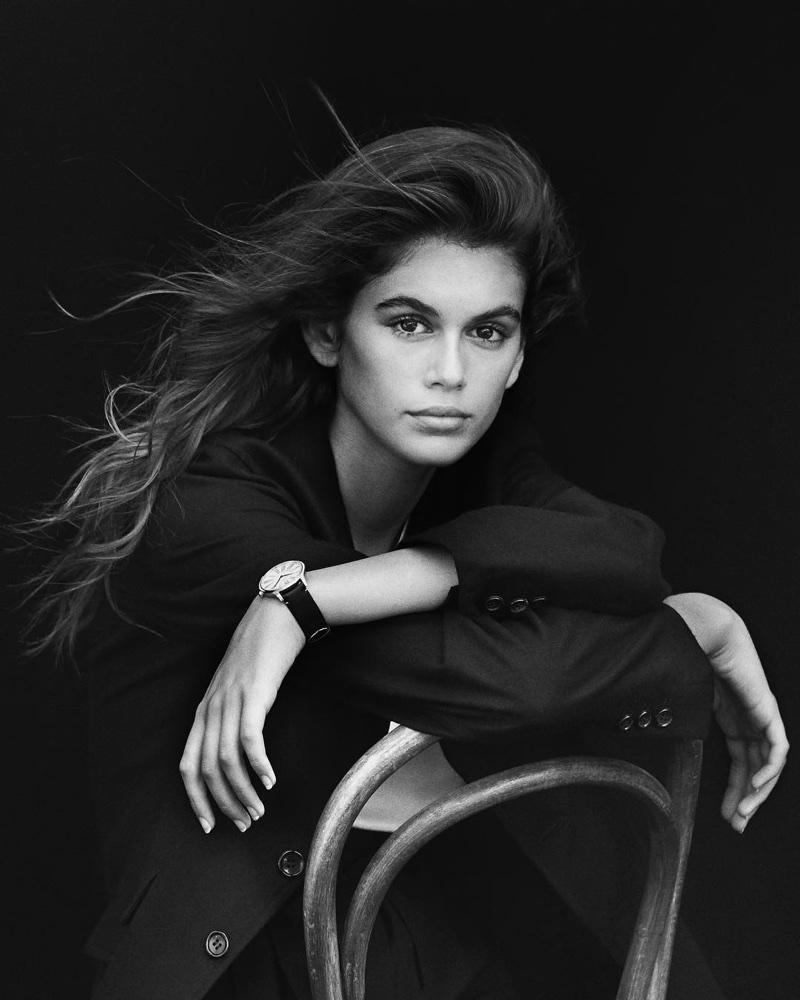 Kaia Gerber stars in OMEGA Trésor watch campaign