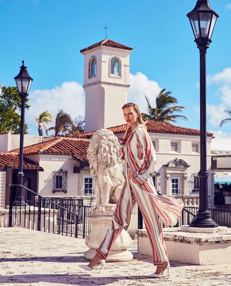 Karolina Kurkova Poses in Miami Inspired Styles for Alexa Magazine