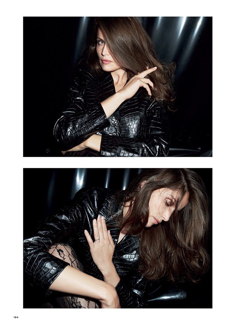 Laetitia Casta Rocks Effortlessly Cool Styles for Air France Madame