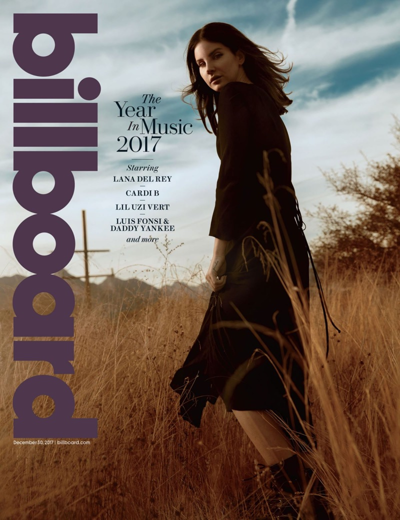 Lana Del Rey on Billboard Magazine December 30th, 2017 Cover