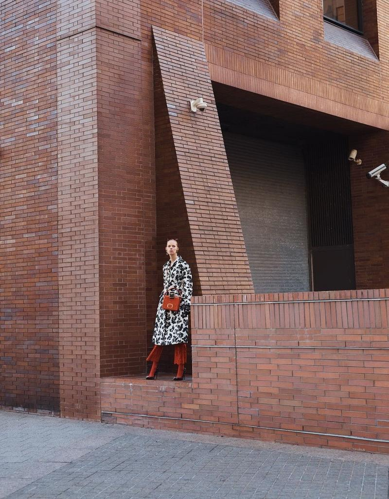 Lexi Boling Poses in Statement Outerwear for Vogue Mexico