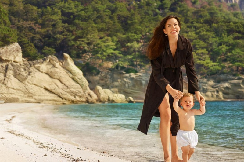 Liv Tyler poses with daughter Lula for Maxx Royal Resorts 2018 campaign