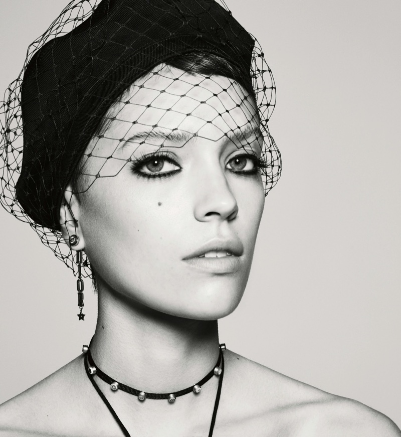 Loane Normand Looks Divine in Dior for Interview Magazine