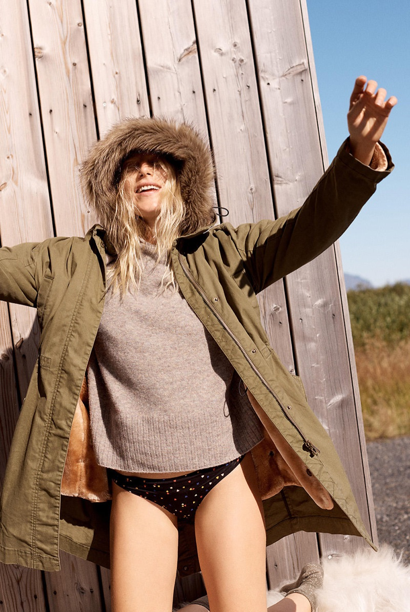 Madewell Bedford Convertible Parka